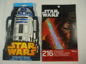 Two Star Wars Stickers Booklets