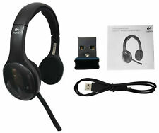 Logitech H800 Auriculares equipo inalámbrico Bluetooth o USB Nano Receptor Negro