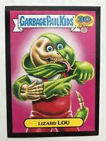 Garbage Pail Kids 2015 Series 2 30th #10b LIZARD LOU GPKs' Kids BLACK NrMt-Mint