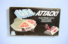 1978 CASTLE TOY BATTERY OP U.F.O. ATTACK! LIGHT WORKS! RED WHITE NICE! BOXED!