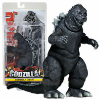 """NECA Monster King Godzilla 1954 12"""" Action Figure Collection Play Toy Head-Tail"""