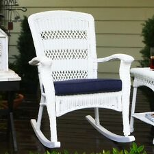 Tortuga Portside Plantation Rocking Chair Outdoor Chairs in White