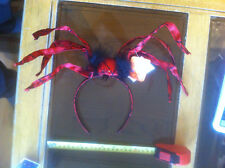Scary Red Spider Moveable Legs Head band Halloween Claire's Accessories £10 RRP