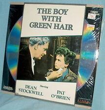 LD laserdisc RKO '48 BOY WITH GREEN HAIR Dean Stockwell/Pat O'Brien JOSEPH LOSEY