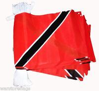 TRINIDAD AND TOBAGO BUNTING 9M FLAG CARIBBEAN FLAGS
