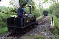He 0-4-0st Alan George Henllan Teifi Valley Railway, Dyfed Rail Photo d