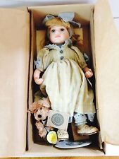 Boyds Yesterdays Child Porcelain Doll Collection - Erin, Lemonade for Two 9177/1