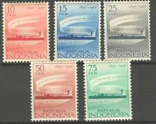 INDONESIA 1957 ZBL 195-199  MNH