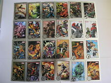 2013/2012 Marvel Greatest Battles & Heroes 90/81 Card - Both Sets Rittenhouse
