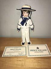 Prince William Doll The Royal Wedding Danbury Mint