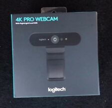 Logitech 4K Pro Webcam with RightLight3 and HDR
