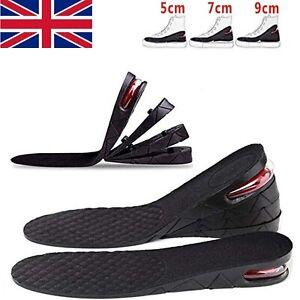 5cm 7cm 9cm Unisex Shoe Lift Height Increase Heel Insoles Insert Cushion Taller