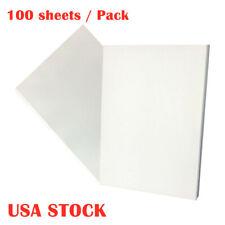 Us Stock 100 Sheets Inkjet Transfer Paper For T Shirt Heat Transfer Paper A4