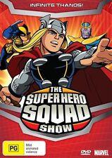 Super Hero Squad Show - Infinite Thanos! DVD PAL REGION 4 NEW