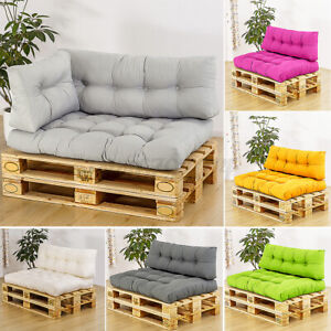 2x Euro Pallet Garden Furniture Cushion Cover Seat Pad Sofa Backrest In/Outdoor