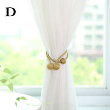 Home Curtain Holder Magnet Buckle Tieback Magnetic Strap Tie-Backs Accessories