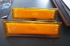 1981-1987 Chevrolet GMC Truck Side Markers WITHOUT Chrome PAIR new