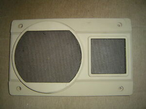 86 87 88 Nissan Stanza Van Station Wagon pair tan speaker grille cover covers