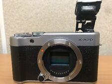 ++ Make Offer ++ Fujifilm  X-A20 Mirrorless Camera (Body Only) - Silver
