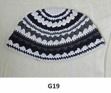 Kippah Freak Greys Kippa Knit Yamaka Kippot Frik Kippot Judaica Yarmulke Crochet