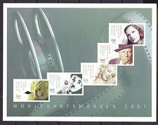 Postfrische Briefmarken aus Deutschland (ab 1945) mit Motiven von Prominenten