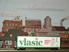 Rare * Vlasic Pickles * 50' * Advertising * Car * Ho Scale Trains *mint*