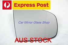 RIGHT DRIVER SIDE BMW X5 E70 2007 - 2013 MIRROR GLASS WITH BASE (2 PINS)