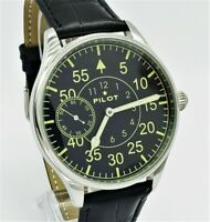 Marriage PILOT Men's WristWatch OPEN FACE mechanism 18J 3602 Pocket Watch USSR