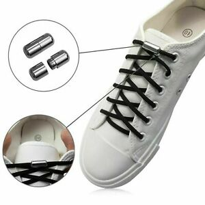 Schnürsenkel elastisch ohne Binden Schnellverschluss für jeden Schuh Neu