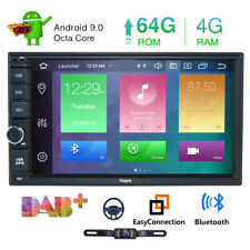 "7""Android 10.0 2Din Car Stereo 8Core RAM:4GB Radio GPS DAB+Wifi 4K Video"