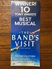 The Band's Visit  ad/flyer Broadway  musical NYC Tony Winner 2018