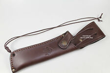 """NEW GERMAN PUMA LEATHER KNIFE SHEATH FIT FOR """"WHITE HUNTER"""" NO. # 6375 & # 6390"""