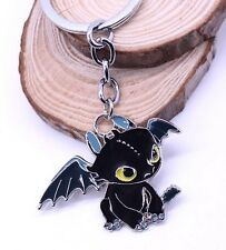 How To Train Your Dragon Toothless Metal Keychain 2 Inches US Seller