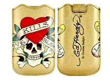 Ed Hardy Love Kills Slowly Case Bag Pouch for Apple iPhone 4 4s 3gs 3g iPod Touch