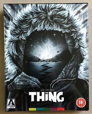 The Thing UK Region B Blu Ray Arrow Video Limited Edition OOP John Carpenter 4k
