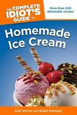 The Complete Idiot's Guide to Homemade Ice Cream (Complete Idiot's-ExLibrary