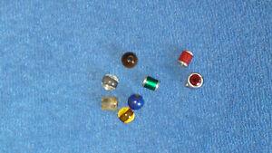 Tipit S verschiedene Einsätze Rollen und Kugeln (8 Stück) für Ring (Ehinger)