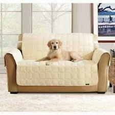 Sure Fit Deluxe Comfort Furniture Sofa Cover in Ivory