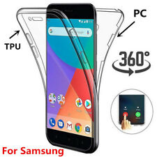 Full Body 360° Cover For Samsung Galaxy Note 10+ S9 S8 Plus A50 Gel Clear Case