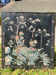 Vintage Furniture 6 ft. Tall Double Sided Room Divider