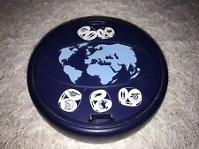 Versión De Viaje Raro de riesgo Express conquista el mundo en una caja redonda de Juego