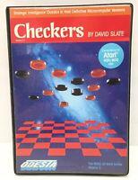 Atari 400 / 800 Checkers by David Slate in Box Volume 2