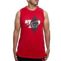 Jordan Jumpman Wings Classic Mesh Jersey (Gym Red) BQ8479-687 Men's Size Large