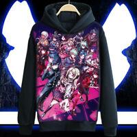 Anime DANGANRONPA V3 Saihara shuichi Coat Unisex Hoodie Jacket Sweater Cosplay