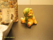 Cherished Teddies / Meredith wearing green hat & scarf 1999 534226