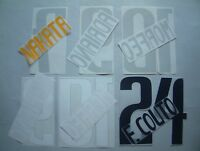 KIT NOME+NUMERO UFFICIALI PARMA HOME/AWAY 2003-2004 OFFICIAL NAMESET