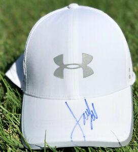 PSA/DNA Masters Champ JORDAN SPIETH Signed Autographed UNDER ARMOUR Hat AUGUSTA!