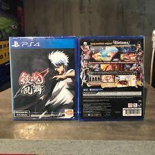 PS4 GINTAMA RUMBLE ASIA ENGLISH VERSION RARE!