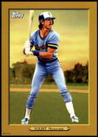 Robin Yount 2020 Topps Turkey Red 2020 5x7 Gold #TR-51 /10 Brewers