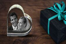 PERSONALISED 3D LASER ENGRAVED CRYSTAL BLOCK GIFT LRG (YOUR PHOTO IN A CRYSTAL)